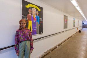 Myah Freeman Degraff Tunnel Art